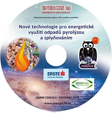 Nové technologie pro EVO pyrolýzou a zplyňováním