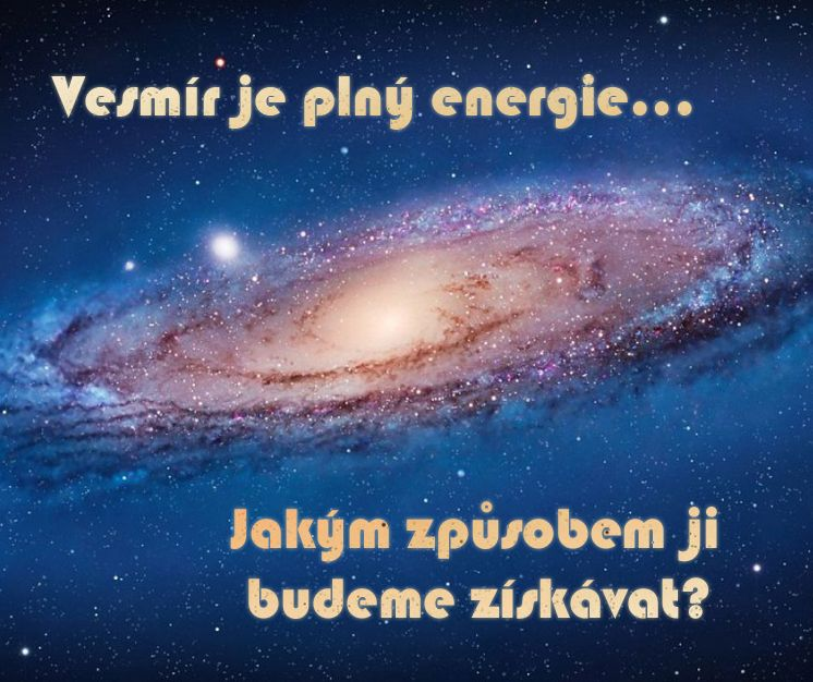 Vesmír je plný energie...